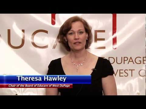 Theresa Hawley interview - Chair of Educare of West DuPage