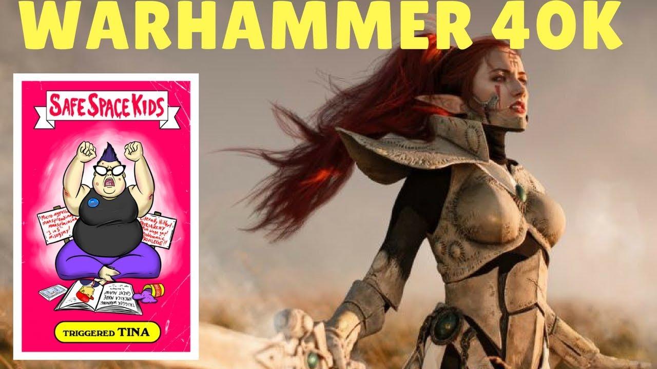 Feminism Sets It's Sights On Warhammer 40K Community (Uh Oh)
