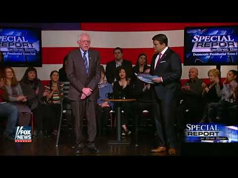 Bernie Sanders Talks About His Stand on Abortion on Fox Town Hall