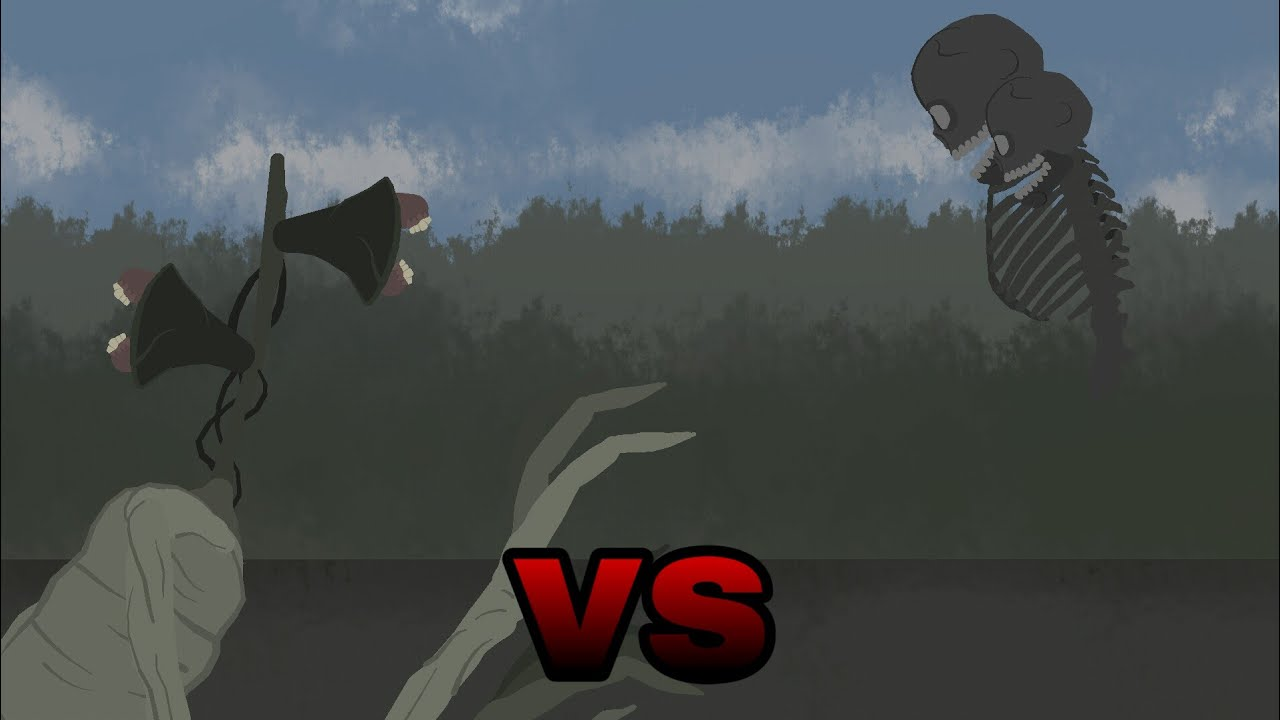 Siren Head vs Wither