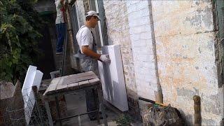 видео Как правильно утеплить стену с помощью пнопласта