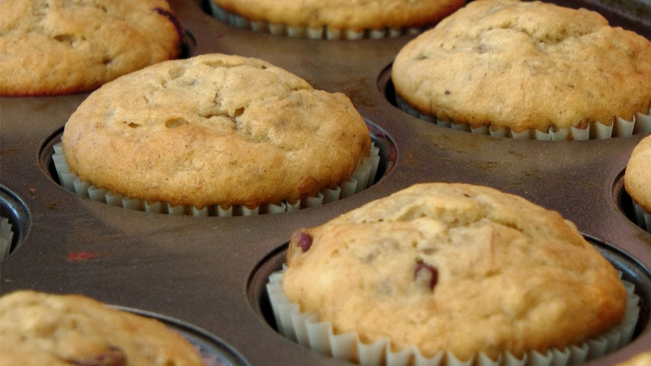 Banana chocolate chip muffins recipe no butter