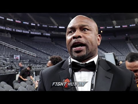 "ROY JONES TO GGG ""YA''LL SAID CANELO RAN & YOU RAN! HE CAME OUT & STALKED YOU!"""