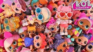 #LOLSurprise КУКЛЫ ЛОЛ МОЯ КОЛЛЕКЦИЯ КОНФЕТТИ ПОП СЕРИЯ ПЕТС ВСЕ СЕРИИ LOL Popsy Toys