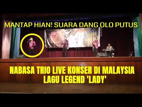 Live Konser Orang Ketiga Nabasa Trio di Kuala Lumpur Malaysia Lady