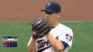 STL@MIN: Milone fans five over seven innings for win
