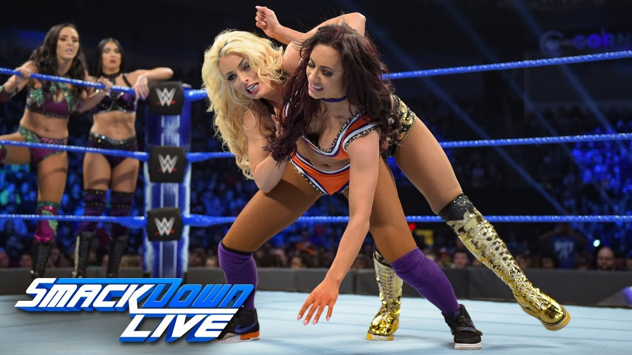 Naomi & Carmella vs. Mandy Rose & Sonya Deville vs. The IIconics: SmackDown LIVE, Feb. 12, 2