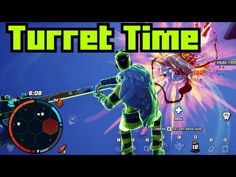 Utilizing the Turret (Darwin Project)