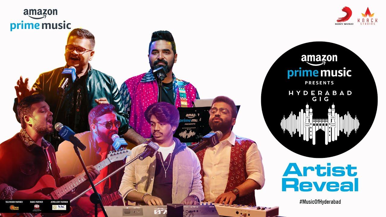 Amazon Prime Music Hyderabad Gig | Artist Reveal Promo