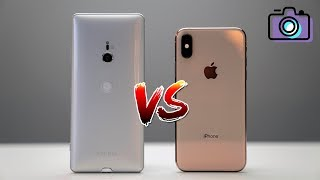 iPhone XS vs Sony Xperia XZ3 Camera Comparison!