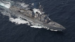 Russian aircraft confront U S destroyer in Black Sea