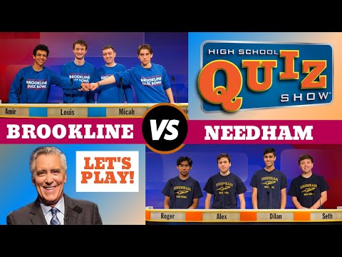 High School Quiz Show - Brookline vs. Needham (802)