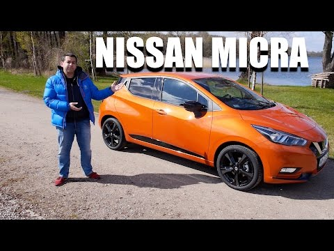 Nissan Micra 2017 ENG Test Drive and Review