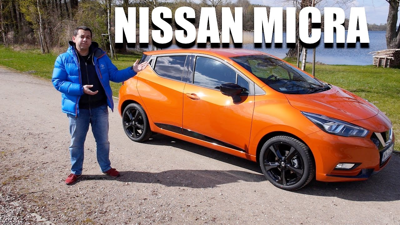 nissan micra 2017 (eng) - test drive and review - youtube