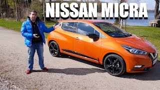Nissan Micra 2017 (ENG) - Test Drive and Review