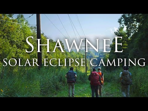 Total Solar Eclipse Camping | Shawnee National Forest in 4K