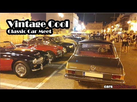50+ Classic Cars Revving And Roaming The Streets In Malta