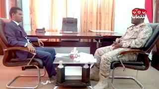 لقاء خاص - العميد الركن خالد يسلم - قائد اللواء 107 مشاه | حوار عمر المقرمي - يمن شباب