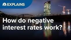 How do negative interest rates work?   CNBC Explains