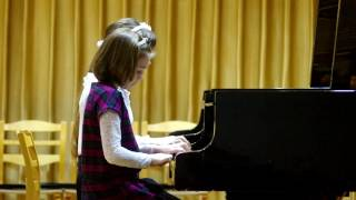 Ария Фигаро (В.А.Моцарт) Мария Солодуха (3 кл), Яна Войтович (3 кл.)