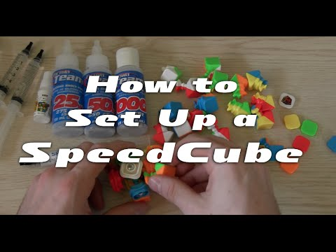 How to fully set up a speed cube