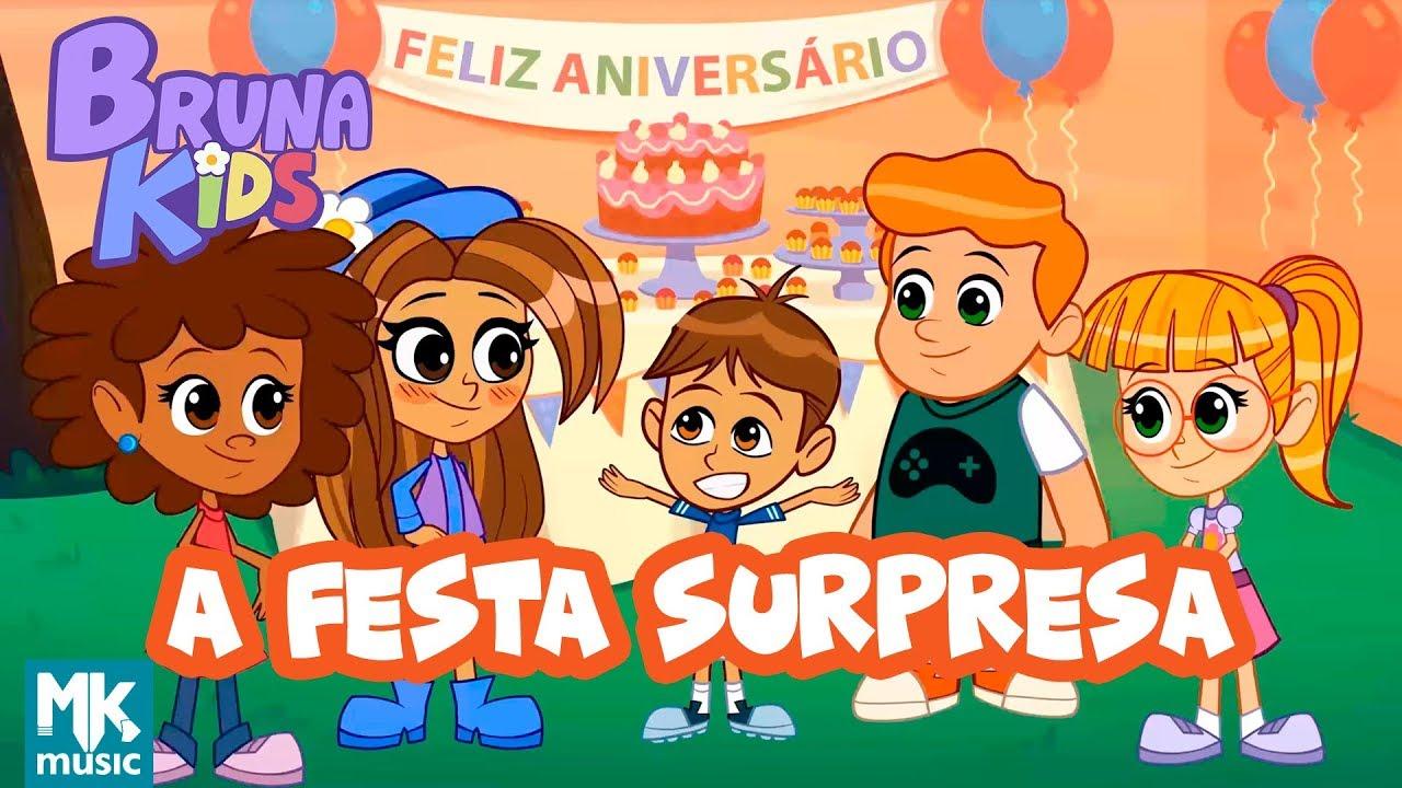 Bruna Kids - ???? A Festa Surpresa   Episódio 3   Bruna Karla