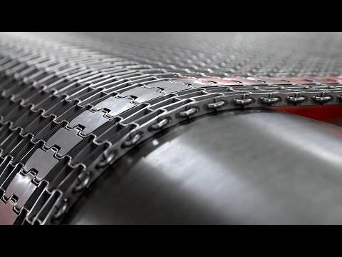 Cambridge Engineered Solutions: World's Largest Metal Conveyor Belt Manufacturer