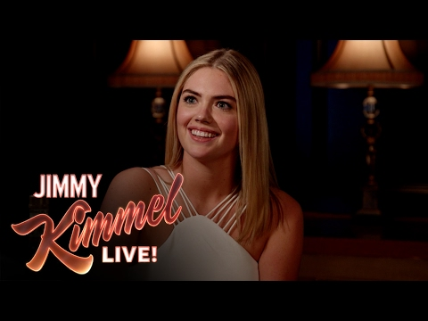 Thumbnail: 3 Ridiculous Questions with Jimmy Kimmel and Kate Upton