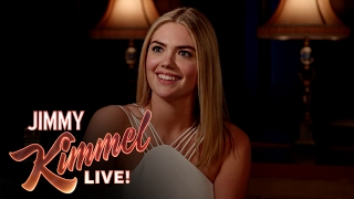 3 Ridiculous Questions Jimmy Kimmel Asks Kate Upton Are Kinda WTF
