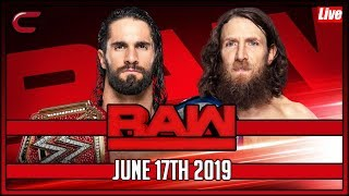 WWE RAW Live Stream Full Show June 17th 2019 Live Reaction Conman167