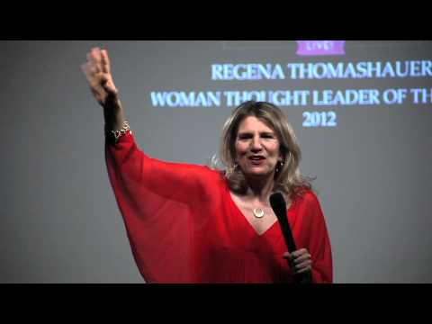 Woman Thought Leader of the Year - Regena Thomashauer at SWSW LIVE! NYC