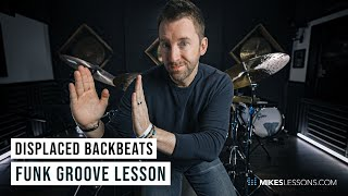 Displaced Backbeat Funk Groove | Drum Lesson