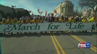 'March for Life' in Washington, DC, on Friday