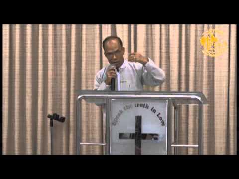 Rev  San Cung Nung preaching August 02, 2015