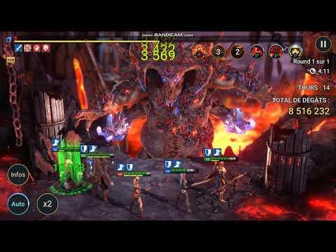 Raid Shadow Legends - Dunestrider / Marchedune in Easy Boss Clan