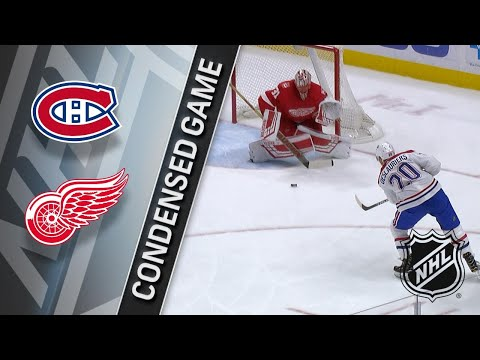 04/05/18 Condensed Game: Canadiens @ Red Wings