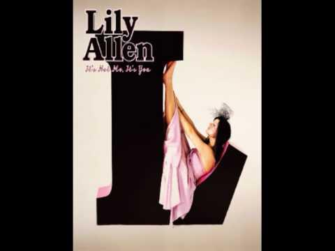 Lily Allen - Not Fair (HQ-sound)