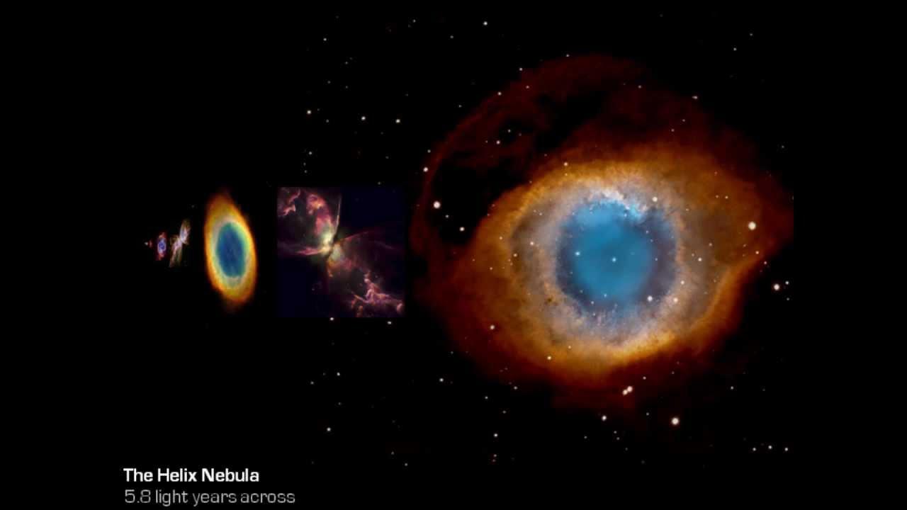 Nebula Size Comparison - YouTube
