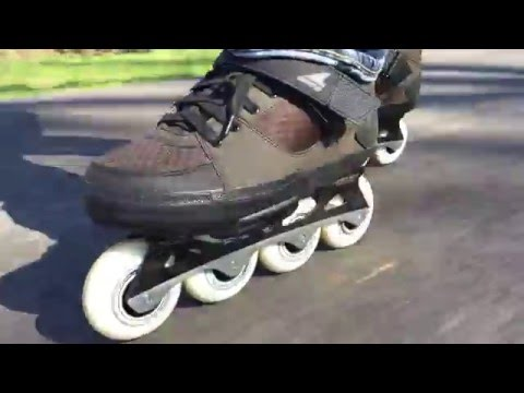 my first skate session with rollerblade metroblade gm s youtube
