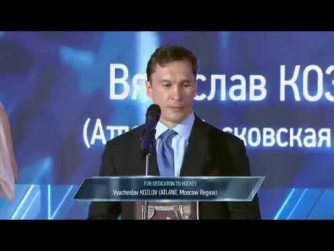 Slava Kozlov Honoured With KHL's Bill Masterton Memorial Trophy