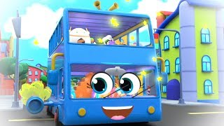 Wheels On The Bus | Bus Song For Kids | Nursery Rhymes and Children Songs