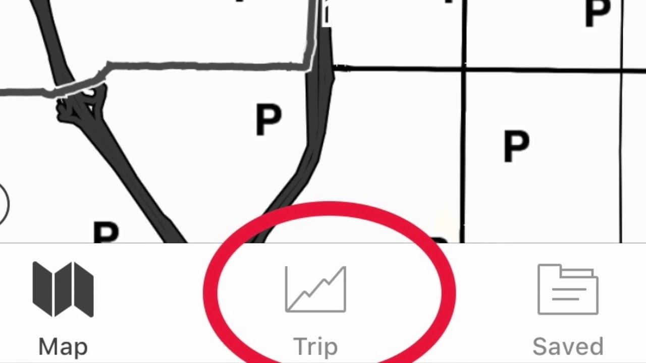 3  GAIA GPS: Intro to Tracking Your Hike Trip Screen