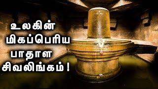 ஒரு ஏழை பெண்ணால் கட்டப்பட்ட உலகின் மிகப்பெரிய சிவலிங்கம்!   Badavilinga Temple, Hampi!