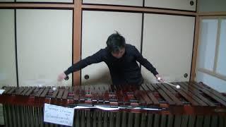 打楽器・マリンバ奏者 中田丈次の演奏です。 月2回のライブ配信を開始...