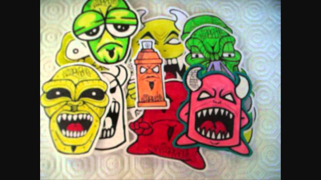 Cholowiz13 stickers graffiti characters stickers youtube