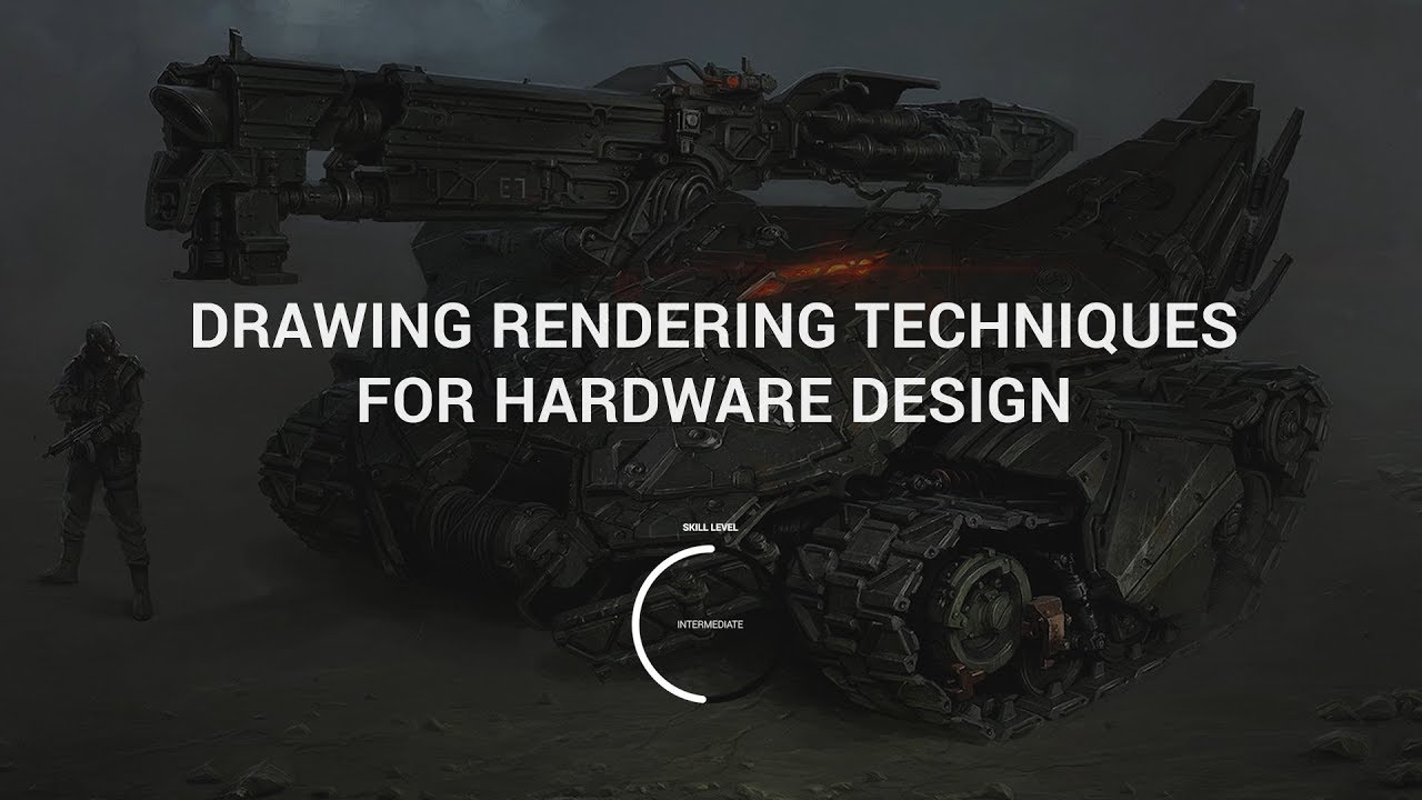 CGMA - Drawing & Rendering Techniques for Hardware Design