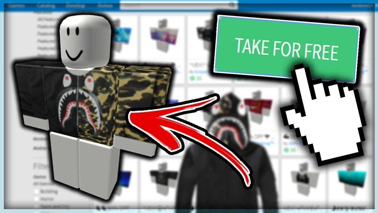 how to get free shirts on roblox no bc