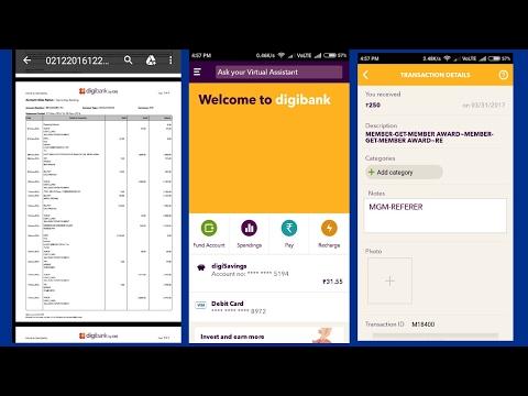 Digibank | How to Refer N Earn ? | Full Tutorial - DBS BANK INDIA