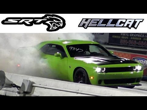 Demonized 800 HP SRT HELLCAT ? 1/4 Mile Drag Video - 10.3 @ 133 mph - Road Test TV®