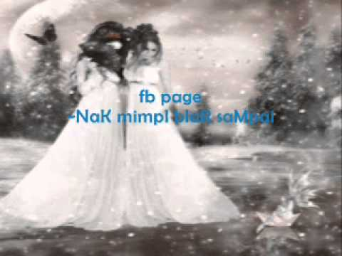 ~Aishah Merenung bulan with Lyrics~